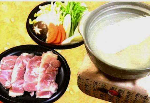 二戸 二戸大吉 菜彩鶏の水炊き