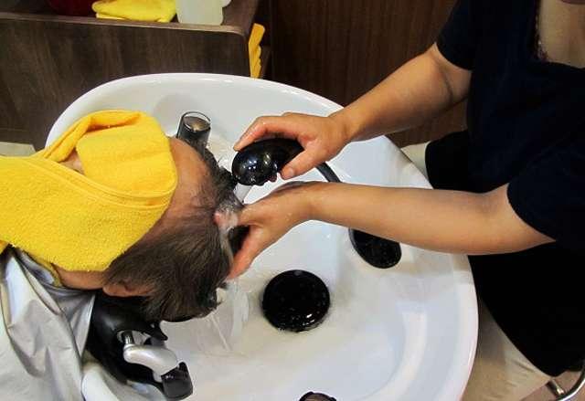 二戸 to/DA natural hair 東北に数台、低反発の気持ちいいリアシャンプー